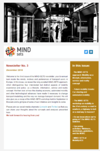 MIND-SETS Newsletter 3
