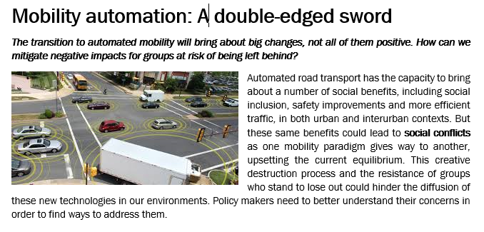 Mobility automation: A double-edged sword